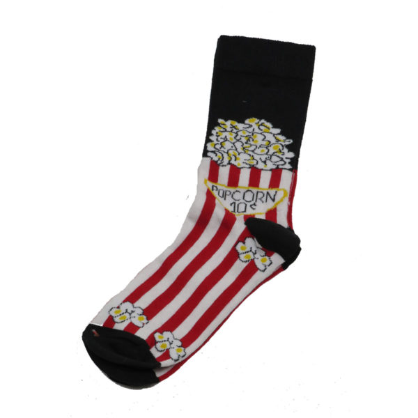 PRIVATO POP CORN Ανδρική Κάλτσα Μαύρη 3
