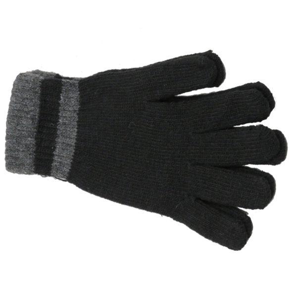 PRIVATO 100 Ανδρικά Γάντια Μαύρα 3