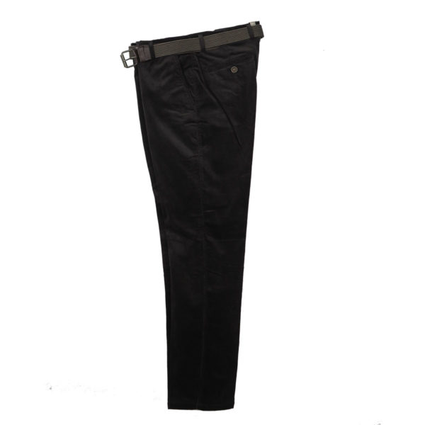 N.Y.TAILORS DARIUS 432 Ανδρικό Παντελόνι Κοτλέ Γκρι Σκούρο 3