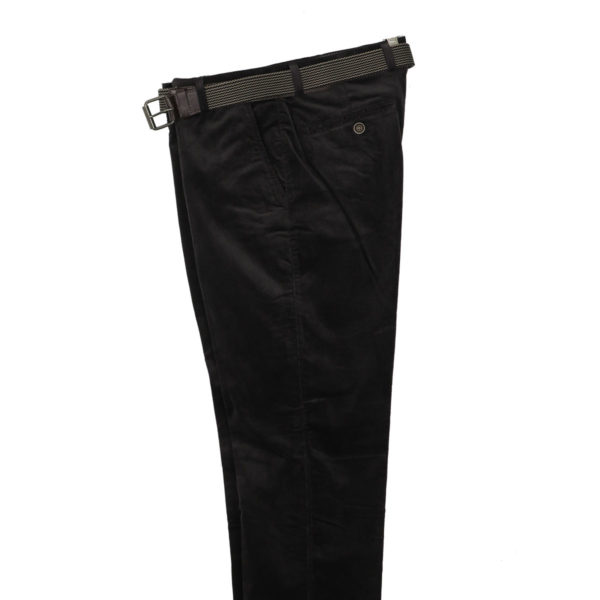 N.Y.TAILORS DARIUS 432 Ανδρικό Παντελόνι Κοτλέ Γκρι Σκούρο 4