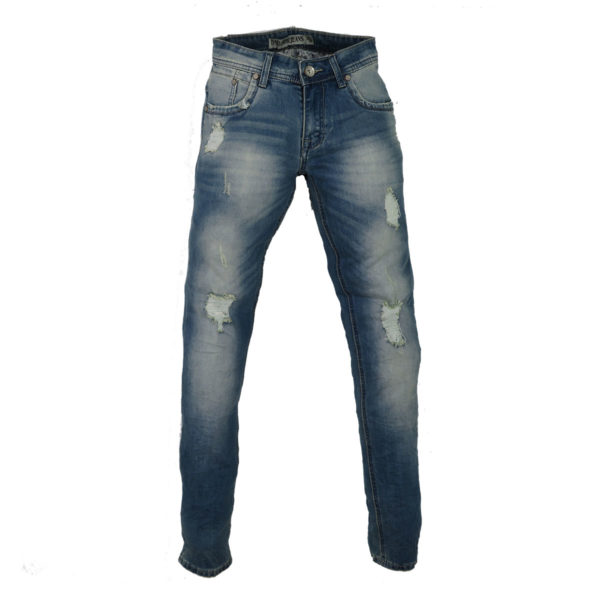 PRIVATO YY2511 Ανδρικό Παντελόνι Μπλε 3