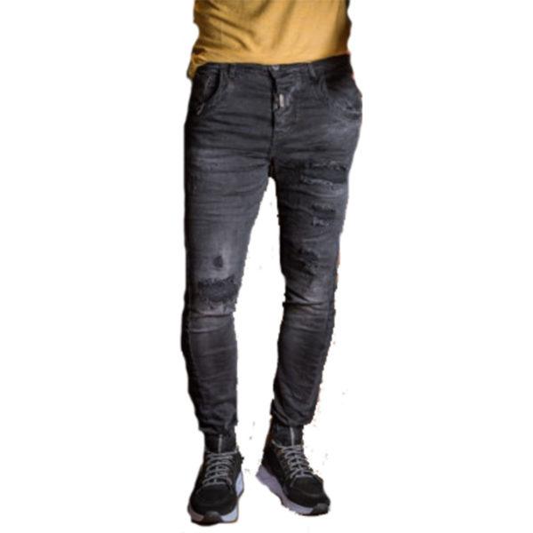 PROFIL 2041 Ανδρικό Παντελόνι Μαύρο 3