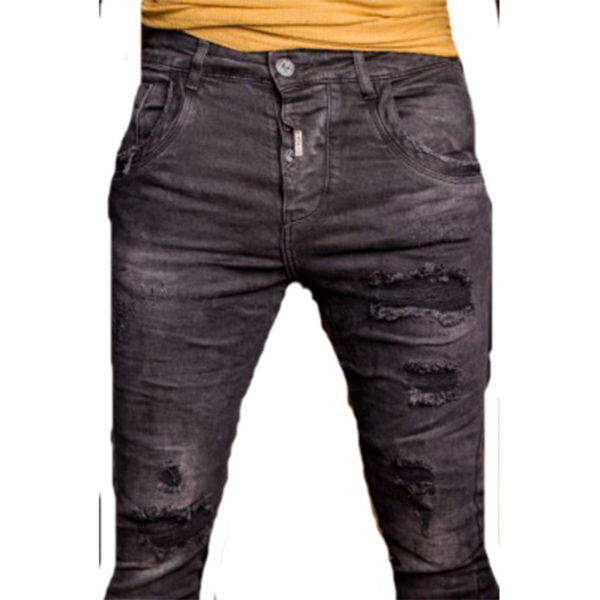 PROFIL 2041 Ανδρικό Παντελόνι Μαύρο 4