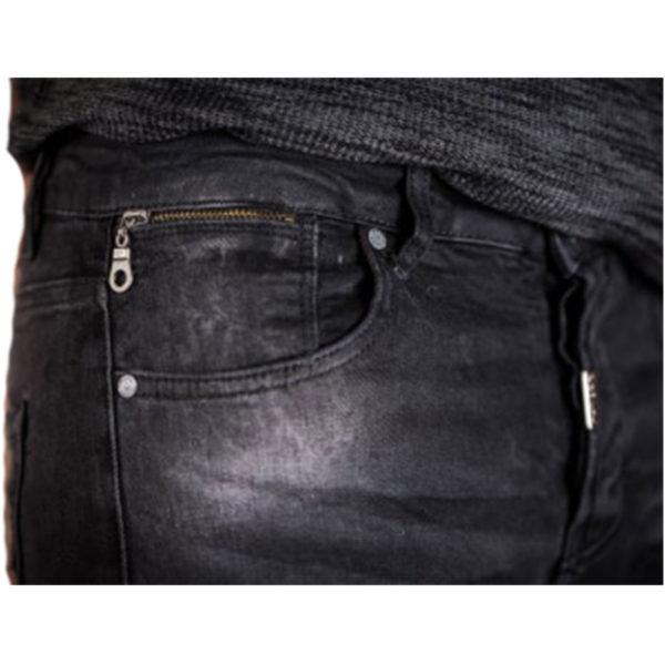 PROFIL 2045 Ανδρικό Παντελόνι Μαύρο 4