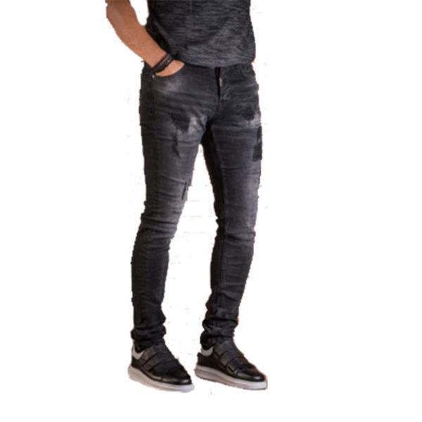 PROFIL 2045 Ανδρικό Παντελόνι Μαύρο 5