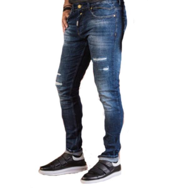 PROFIL 2054 Ανδρικό Παντελόνι Μπλέ 3