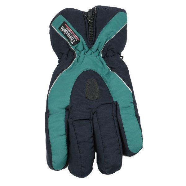 Privato 555 Ανδρικά Γάντια Μπλε-Πράσινο 3