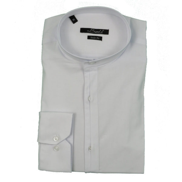 Brands 10 Ανδρικό Πουκάμισο Λευκό 3
