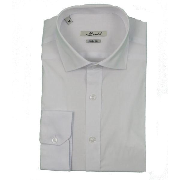 Brands P05 Ανδρικό Πουκάμισο Λευκό 3