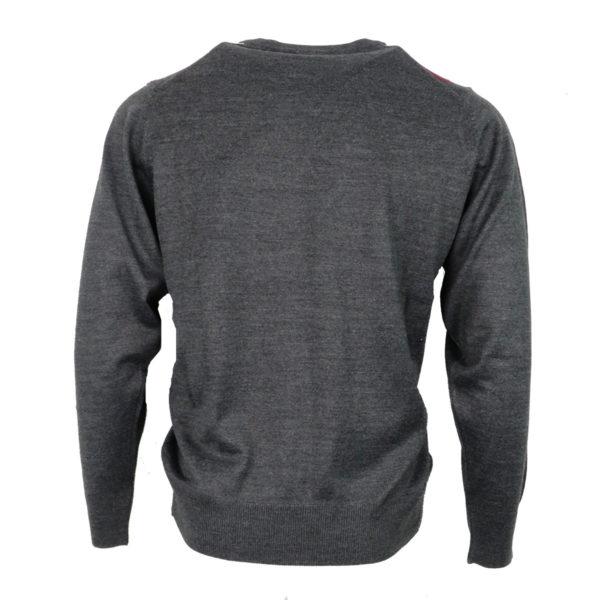 Unique 220 Ανδρική Μπλούζα Γκρί 4