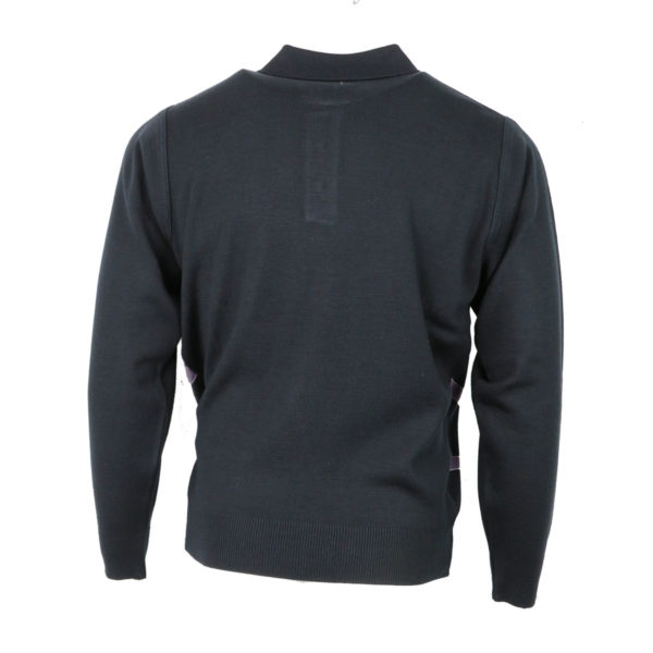 Unique 810 Ανδρική Μπλούζα Μπλέ 4