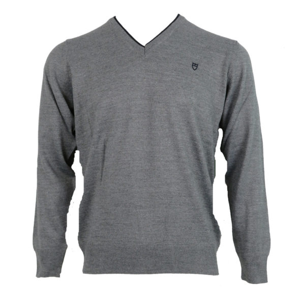 UNIQUE 230 Ανδρική Μπλούζα Γκρί 3