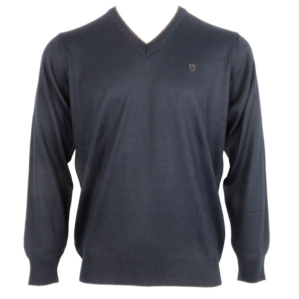 UNIQUE 230 490 Ανδρική Μπλούζα Μπλέ 3