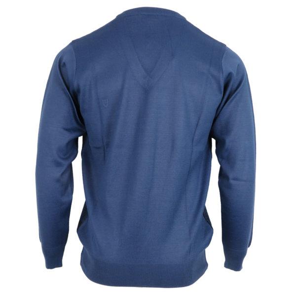 Unique 430 Ανδρική Μπλούζα Μπλέ 4