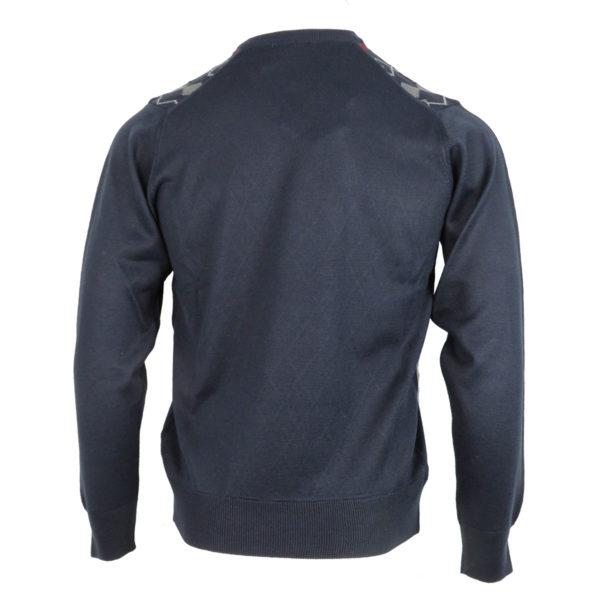 Unique 155 Ανδρική Μπλούζα Μπλέ 4
