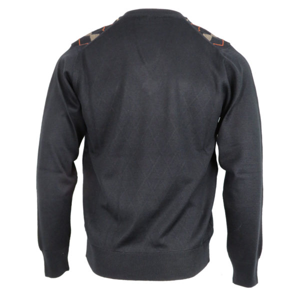 Unique 155 Ανδρική Μπλούζα Μαύρη 4