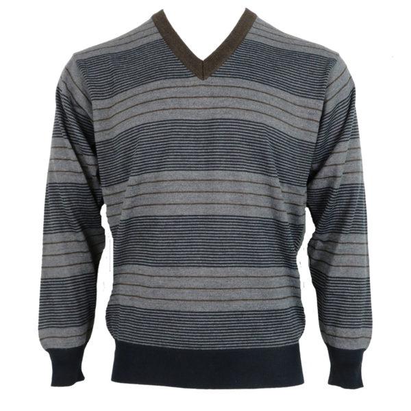Unique 330 Ανδρική Μπλούζα Γκρί 3