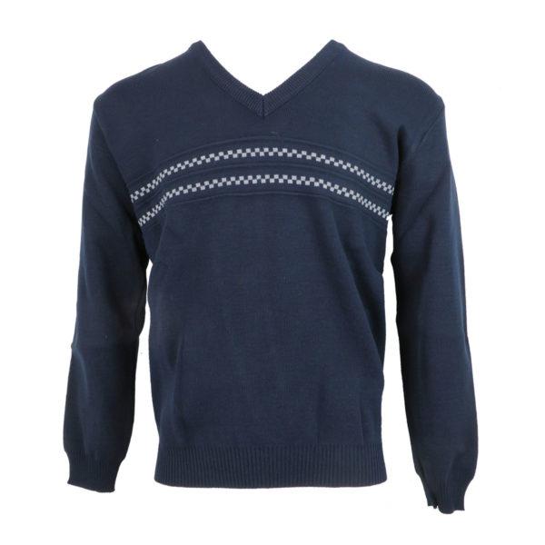 Privato 636 Ανδρική Μπλούζα Μπλέ 3