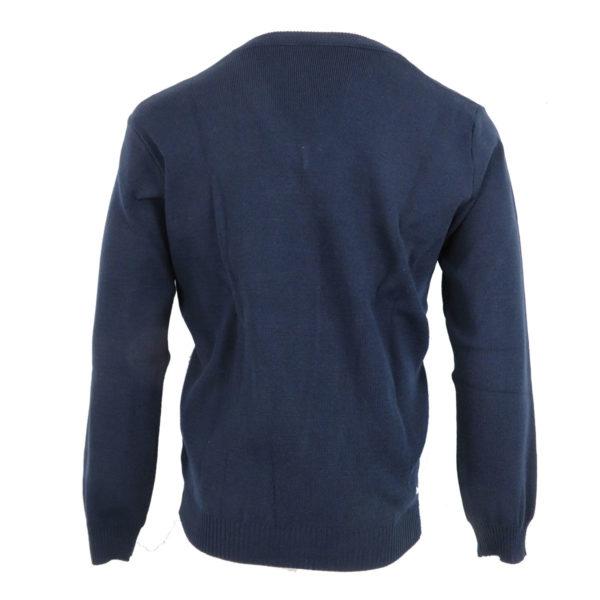 Privato 636 Ανδρική Μπλούζα Μπλέ 4