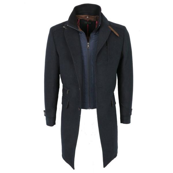 ORION 901CS05 Ανδρικό Παλτό Μπλέ Σκούρο 4
