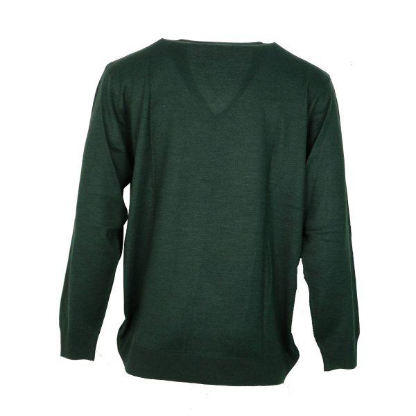 Unique 230 490 Ανδρικό Πλεκτό Πράσινο Σκούρο 3