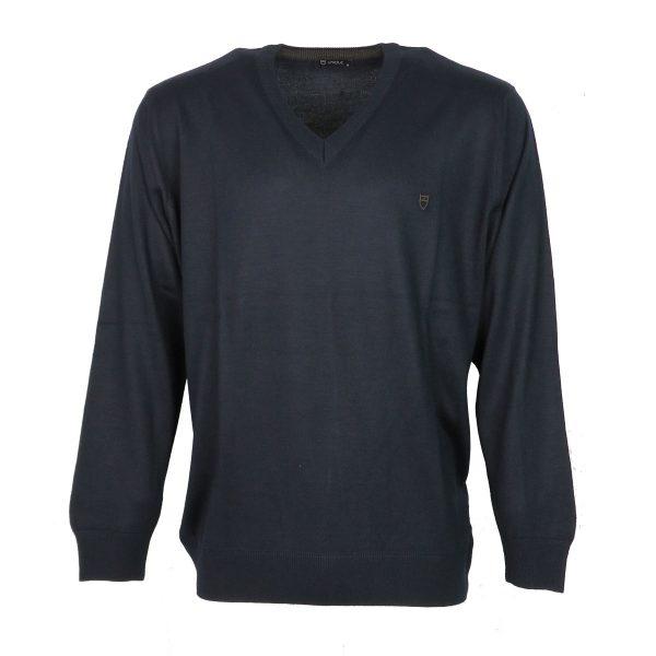 UNIQUE 230 490 Ανδρική Μπλούζα Μπλέ 4
