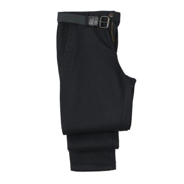 NEW YORK TAILORS 004.14.QUIN Ανδρικό Παντελόνι Μαύρο 3