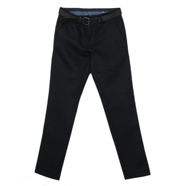 NEW YORK TAILORS 004.14.QUIN Ανδρικό Παντελόνι Μαύρο 4