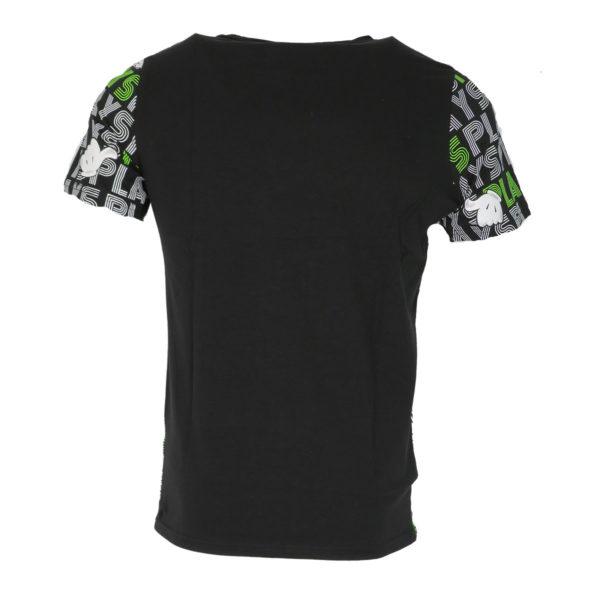 Privato FX 627 Ανδρικό Μπλουζάκι Μαύρο 4