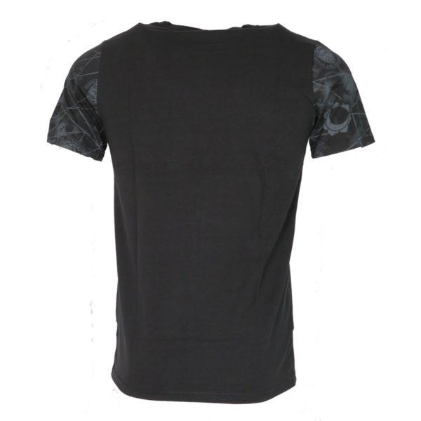 Privato FX 701 Ανδρικό Μπλουζάκι Μαύρο 4