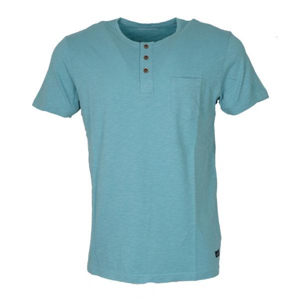 Tiffosi 10003068  704 Ανδρικό Μπλουζάκι Τυρκουάζ 3