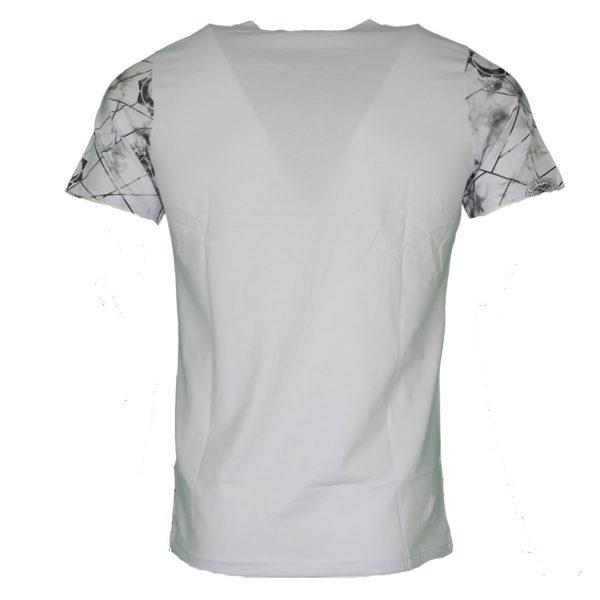 Privato FX 701 Ανδρικό Μπλουζάκι Λευκό 4