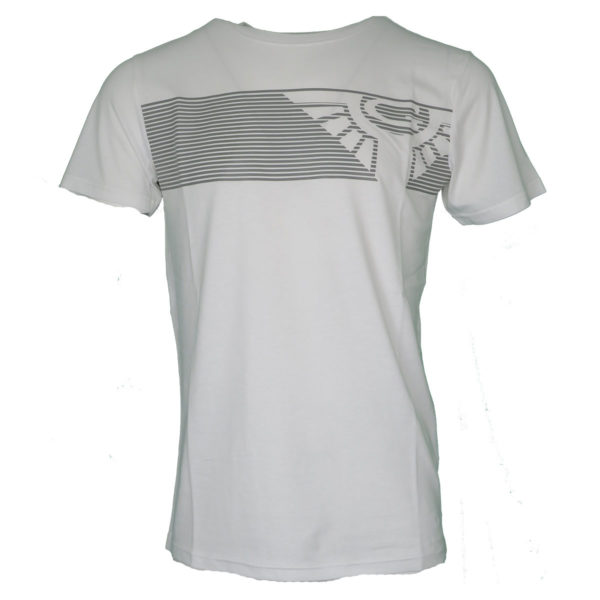 GNIOUS 28-300528 Mattis 1001 Ανδρικό Μπλουζάκι Λευκό 3