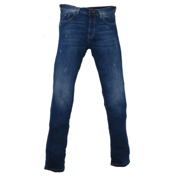 CABELL 317-D Ανδρικό Παντελόνι Τζίν Μπλέ 3