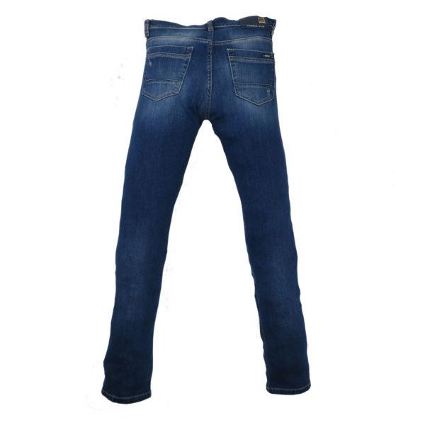 CABELL 317-D Ανδρικό Παντελόνι Τζίν Μπλέ 6