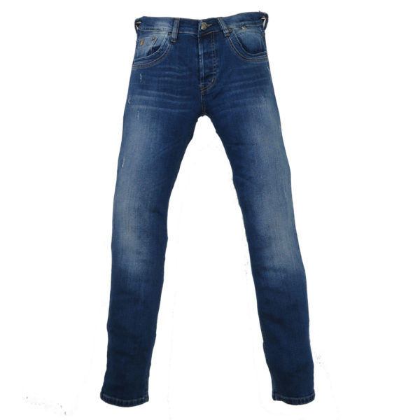 CABELL 335-1D Ανδρικό Παντελόνι Τζίν Μπλέ 3