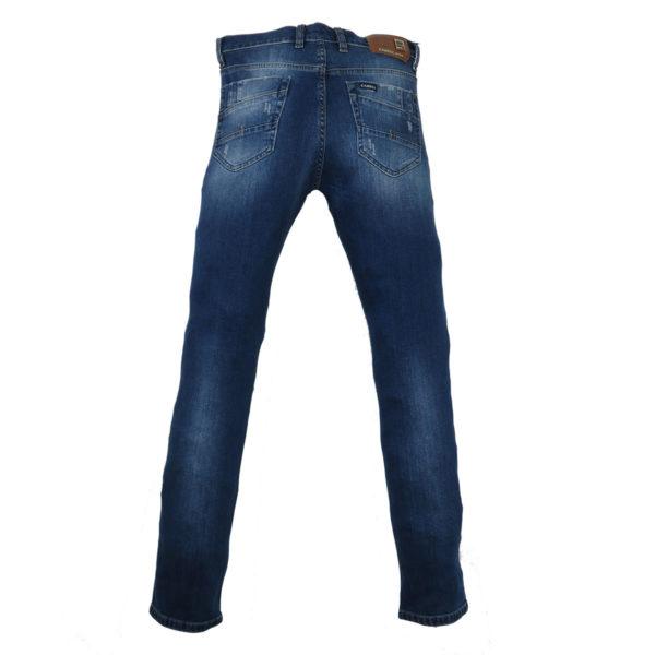 CABELL 335-1D Ανδρικό Παντελόνι Τζίν Μπλέ 5