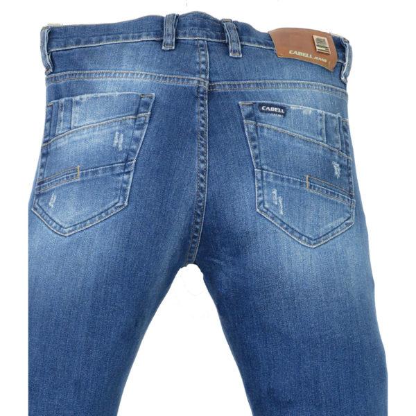 CABELL 335-1D Ανδρικό Παντελόνι Τζίν Μπλέ 6