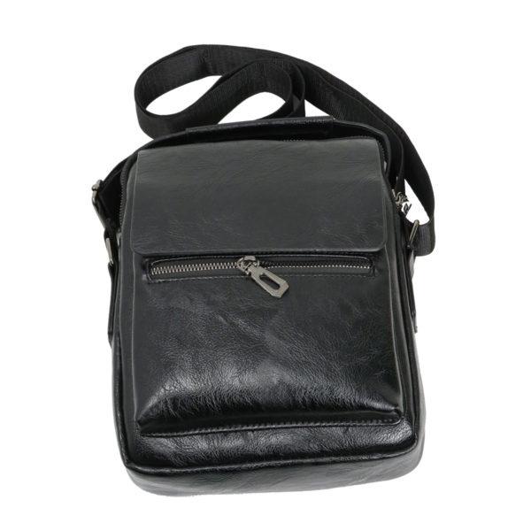 Privato 2023 Ανδρική Τσάντα Μαύρη 4