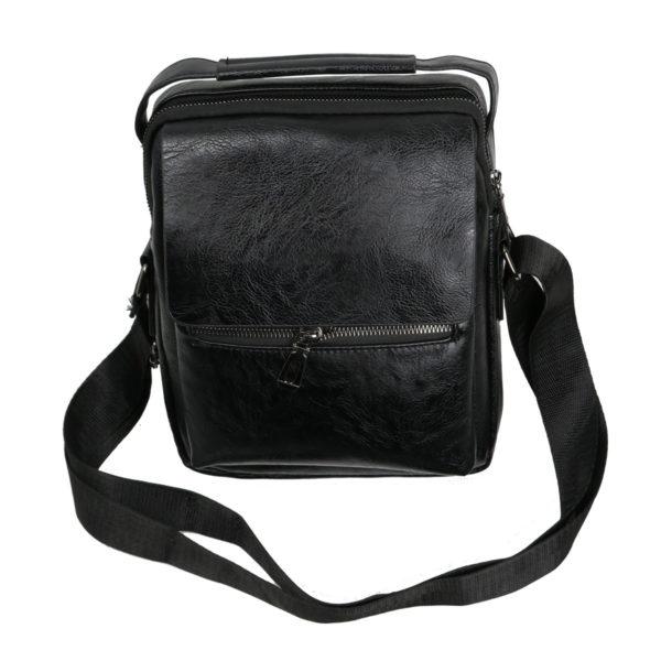 Privato 2023 Ανδρική Τσάντα Μαύρη 3