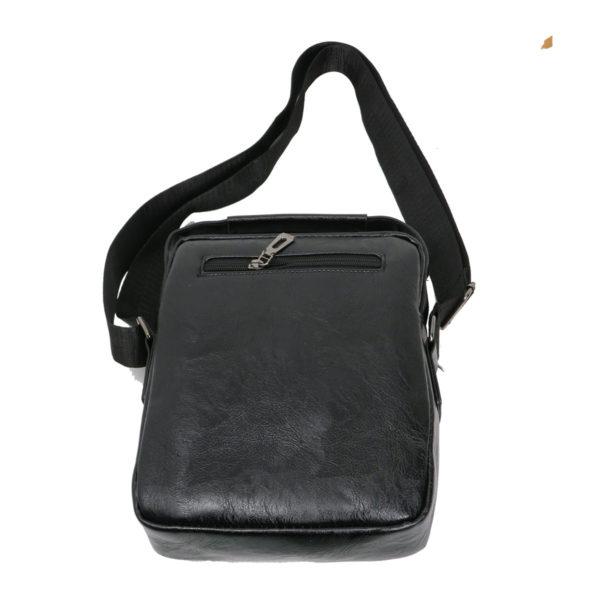 Privato 2023 Ανδρική Τσάντα Μαύρη 5