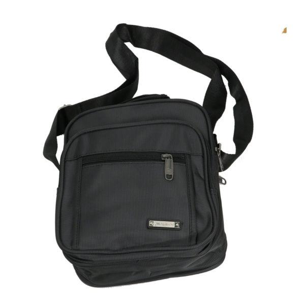 Privato 2021 Ανδρική Τσάντα Μαύρη 4