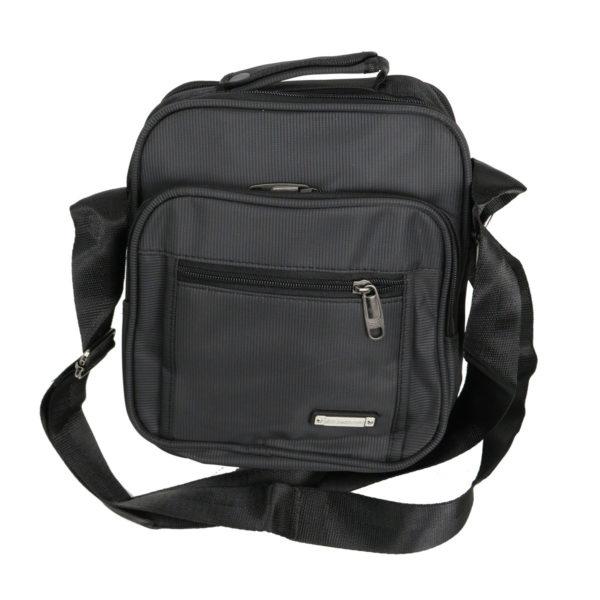 Privato 2021 Ανδρική Τσάντα Μαύρη 3