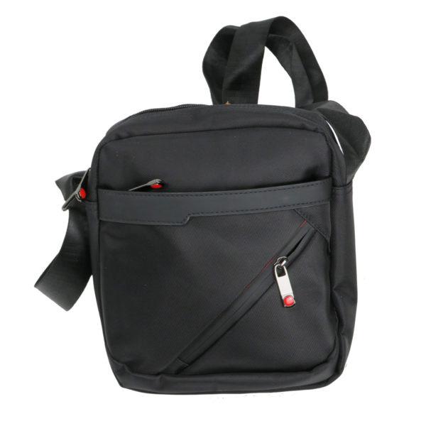 Privato 2024 Ανδρική Τσάντα Μαύρη 3
