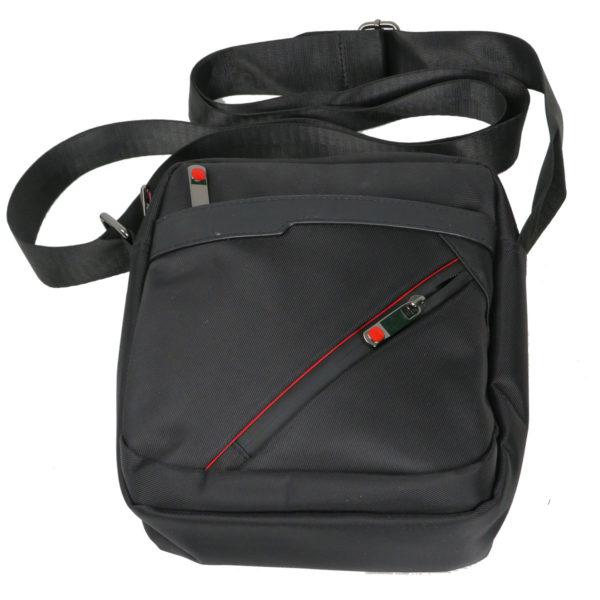 Privato 2024 Ανδρική Τσάντα Μαύρη 6