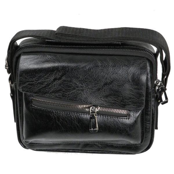 Privato 2025 Ανδρική Τσάντα Μαύρη 3