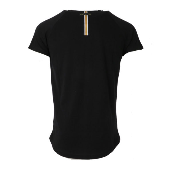 Cotton 4All 20-934 Ανδρικό Μπλουζάκι Μαύρο 4