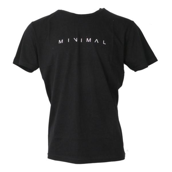 Cotton 4All 20-900 Ανδρικό Μπλουζάκι Μαύρο 3