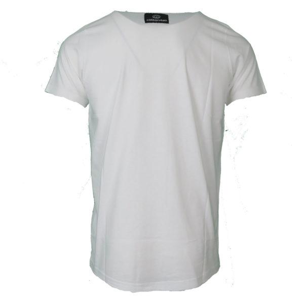 Cotton 4All 20-918 Ανδρικό Μπλουζάκι Λευκό 4