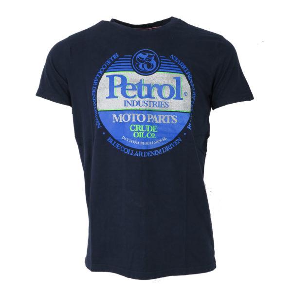 Petrol M-1000-TSR600 5090 Ανδρικό Μπλουζάκι Μπλέ 3